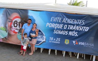 Semana Nacional de Trânsito conscientiza mais de 400 pessoas