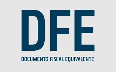 Como emitir o Documento Fiscal Equivalente (DFE)