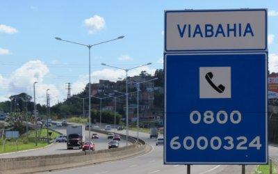 VIABAHIA realiza detonação de rochas na BR-116 – rodovia Santos Dumont
