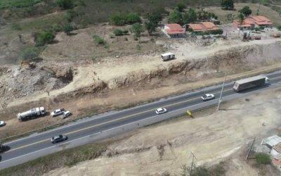 VIABAHIA realiza terceira etapa de detonação de rochas nesta quinta-feira (14/02) na BR-116 – rodovia Santos Dumont