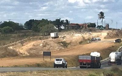 VIABAHIA realiza nova etapa de detonação de rochas na BR116 – Rodovia Santos Dumont