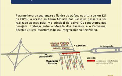 VIABAHIA organiza acesso ao bairro Morada dos Pássaros